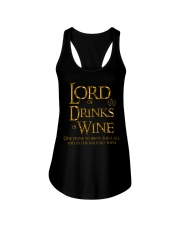 Lord of the Drinks is Wine Ladies Flowy Tank thumbnail
