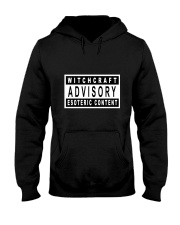 Witchcraft Advisory Hooded Sweatshirt front