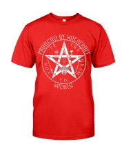 Protected by Witchcraft Classic T-Shirt front