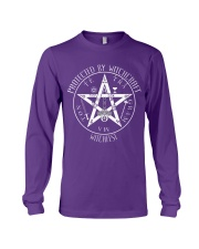 Protected by Witchcraft Long Sleeve Tee front