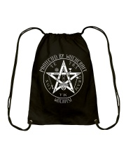 Protected by Witchcraft Drawstring Bag thumbnail