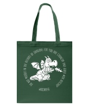 Do Not Mess With Dragons Tote Bag thumbnail