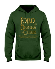 Lord of Drinks is Cider Hooded Sweatshirt front