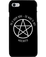 The Wiccan Rede Phone Case thumbnail