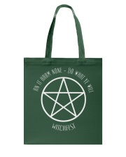 The Wiccan Rede Tote Bag thumbnail