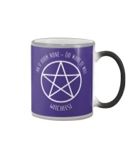 The Wiccan Rede Color Changing Mug thumbnail