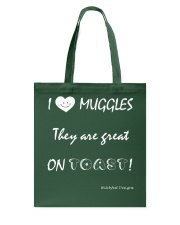 I Love Muggles Tote Bag thumbnail