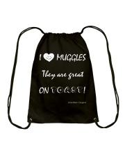 I Love Muggles Drawstring Bag thumbnail