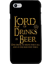 Lord of the Drinks is Beer Phone Case thumbnail