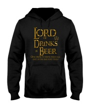 Lord of the Drinks is Beer Hooded Sweatshirt thumbnail