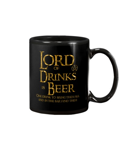 Lord of the Drinks is Beer