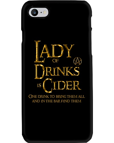 Lady of the Drinks is Cider