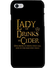 Lady of the Drinks is Cider Phone Case thumbnail