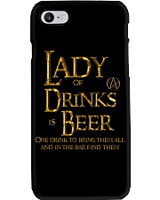 Lady of Drinks is Beer Phone Case thumbnail