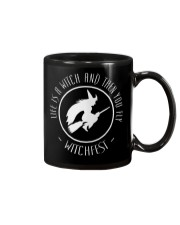 Life is a Witch then you fly Mug thumbnail
