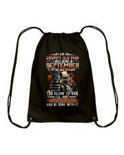 H- SEPTEMBER MAN Drawstring Bag thumbnail