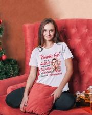 NOVEMBER GIRL Ladies T-Shirt lifestyle-holiday-womenscrewneck-front-2