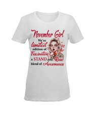 NOVEMBER GIRL Ladies T-Shirt women-premium-crewneck-shirt-front