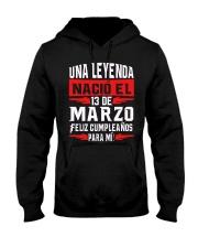 13 DE MARZO Hooded Sweatshirt thumbnail