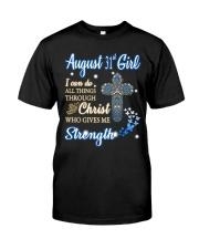 31st August christ Classic T-Shirt front