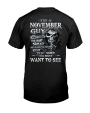 NOVEMBER GUY Classic T-Shirt back