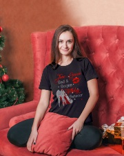 JUNE QUEEN Ladies T-Shirt lifestyle-holiday-womenscrewneck-front-2