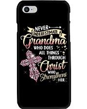GRANDMA CHRIST LHA Phone Case tile
