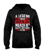 10th March legend Hooded Sweatshirt thumbnail