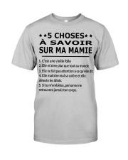 5 Choses Ma Mamie Classic T-Shirt tile