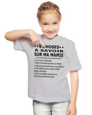 5 Choses Ma Mamie Youth T-Shirt lifestyle-youth-tshirt-front-2