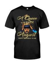 H - AUGUST QUEEN Classic T-Shirt thumbnail