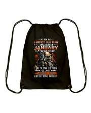 H- JANUARY MAN Drawstring Bag thumbnail