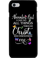 NOVEMBER GIRL Phone Case thumbnail