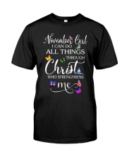 NOVEMBER GIRL Classic T-Shirt tile