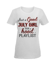 JULY GIRL Ladies T-Shirt women-premium-crewneck-shirt-front