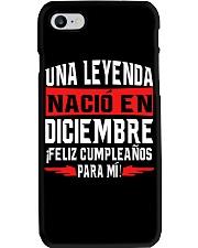 H - NACIO EN DICIEMBRE Phone Case tile