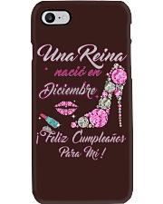 Una Reina Diciembre Phone Case thumbnail