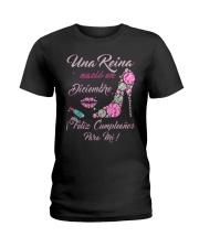 Una Reina Diciembre Ladies T-Shirt front