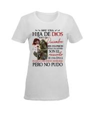 H - CHICA DE DICIEMBRE Ladies T-Shirt women-premium-crewneck-shirt-front