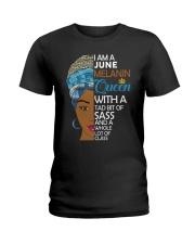 JUNE QUEEN Ladies T-Shirt front