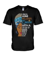 JUNE QUEEN V-Neck T-Shirt tile