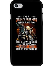 Grumpy old man Phone Case thumbnail