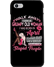 H - GRUMPY OLD WOMAN APRIL Phone Case thumbnail