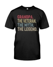 GRANDPA THE LEGEND Classic T-Shirt front
