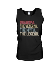 GRANDPA THE LEGEND Unisex Tank tile