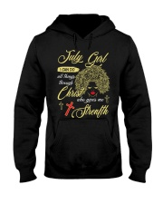 July Girl Hooded Sweatshirt thumbnail
