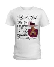 April Girl Ladies T-Shirt front