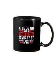 8th January legend Mug thumbnail