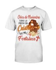 H - CHICA DE NOVIEMBRE Classic T-Shirt front
