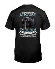 AUGUST Classic T-Shirt back